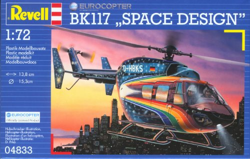 ドイツレベル 1/72 BK-117 Space 04833 プラモデル
