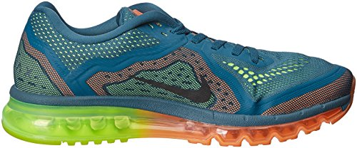 Nike Air Max 2014Hombre Sneaker Night Factor/atomic Orange/Volt/Negro 621077–�?08