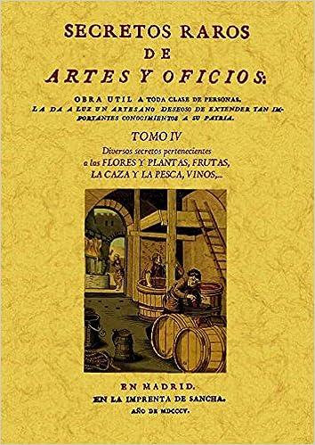 Secretos raros de artes y oficios 12 Tomos : Secretos raros de ...