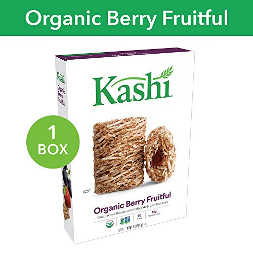 Kashi, Breakfast Cereal, Organic Berry Fruitful, Non-GMO Project Verified, 15.6 oz