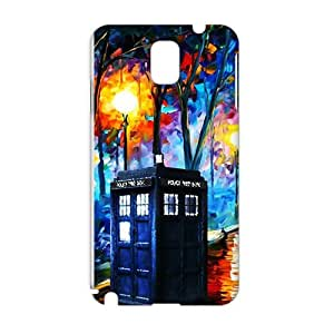 Cool-benz Doctor Who unique pavilion 3D Phone Case for Samsung Galaxy Note3