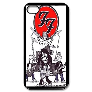 iPhone 4,4S Phone Case Black foo fighters AFVT588300