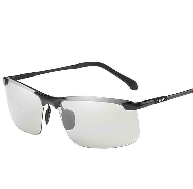 Gafas De Sol UV Polarizadas Para Hombre Gafas De Sol Graduadas Con Sensibilidad Inteligente Gafas De