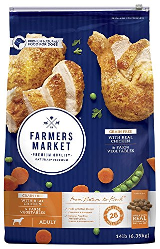 Farmers Market Pet Food Premium Natural Grain-Free Dry Dog Food
