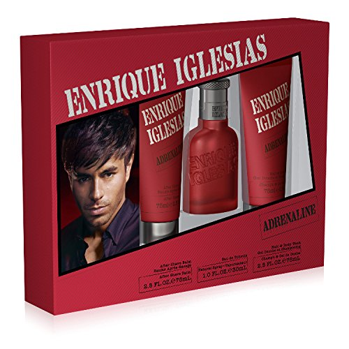 Enrique Iglesias Eau de Toilette Spray Set, 3 Count ()