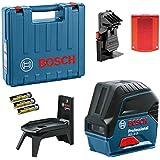 Nível à Laser GCL2-15 + Gancho + Maleta, Bosch 0601066E02-000, Azul
