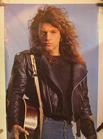 Bon Jovi Poster Jon John Door Vintage