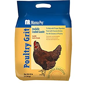 Manna Pro Poultry Grit|Insoluble Crushed Granite|25 Pounds 5