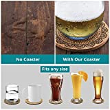 Coasters for Drinks, Jecarden Coasters for Wooden