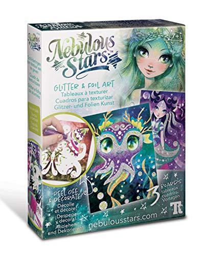 Nebulous Stars Glitter and Foil Art