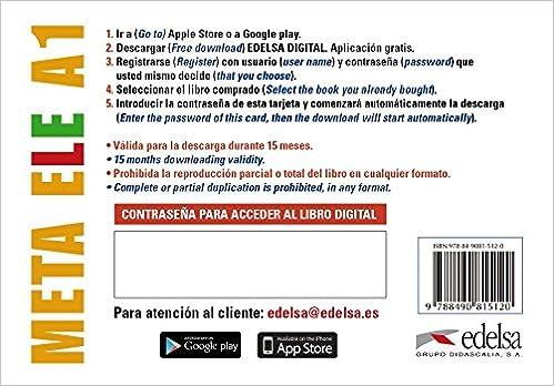 Meta ELE A1 - tarjeta app alumno Métodos - Jóvenes y adultos ...