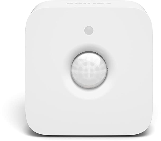 Philips Hue - Sensor de movimiento inalámbrico controlable vía WiFi, compatible con Apple HomeKit y Google Home