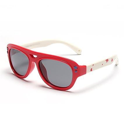 432556cd76 Gafas de Sol polarizadas para Niños Protección UV Estrellas Decoración Niños  y Niñas de 3 a