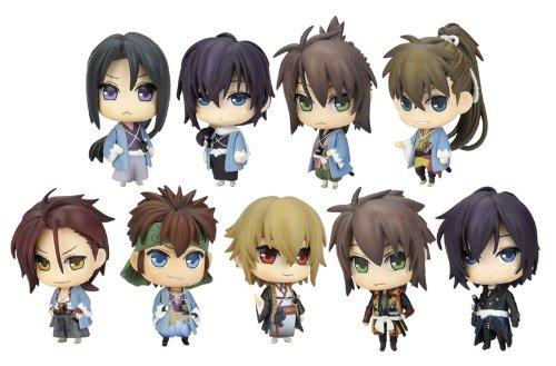 Hakuoki Shinsengumi Kitan: One Coin Trading Figure Box (Set of 9)