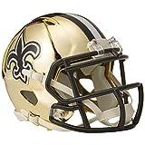 Riddell Chrome Alternate NFL Speed Mini Helmet New Orleans Saints