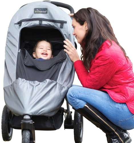 3 Wheel Stroller With Bassinet - 7