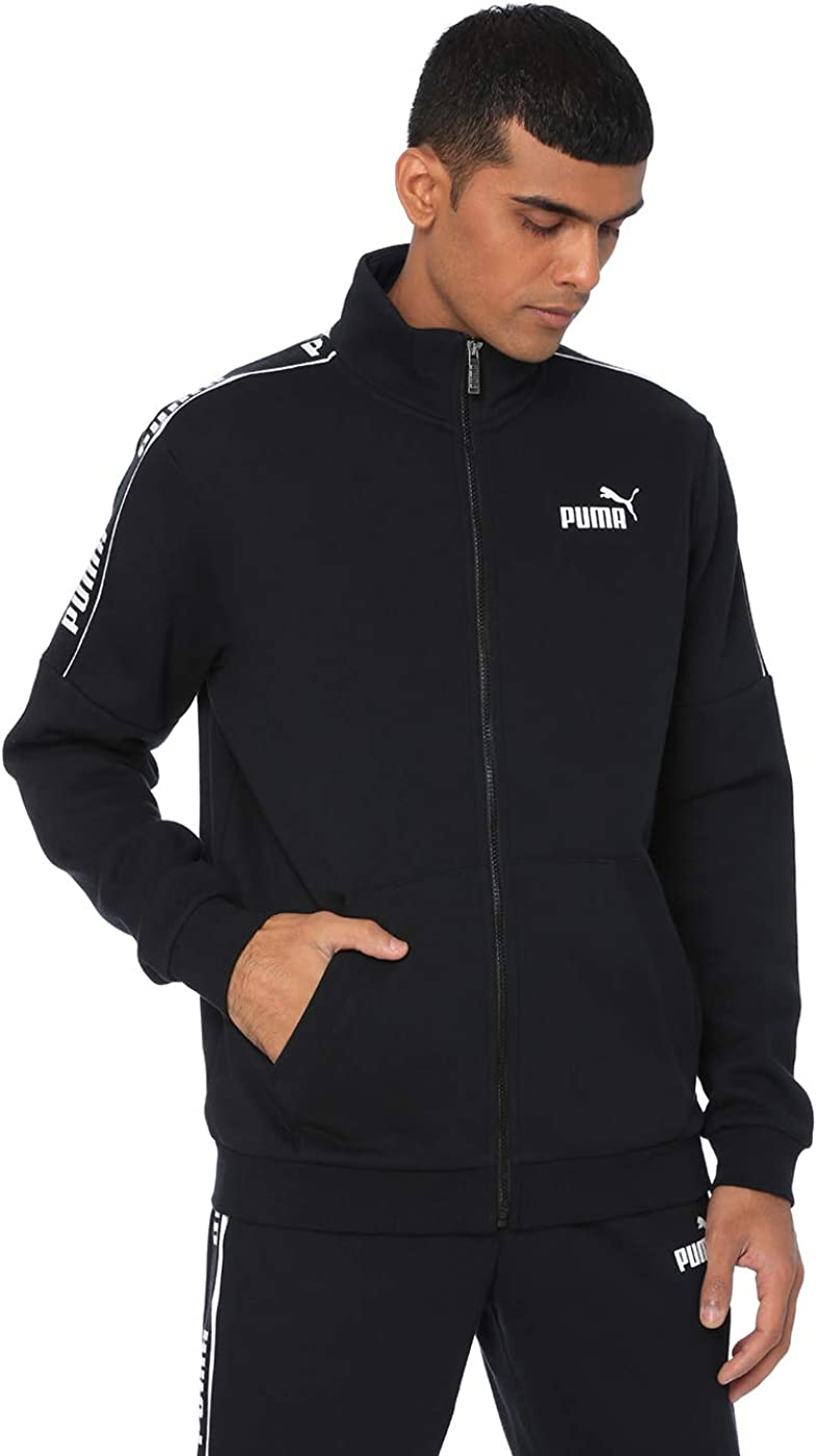 PUMA Amplified Sweat Suit Traje DE Entrenamiento para Hombre Negro 58048901