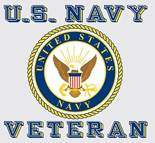 amazon com united states navy veteran car decal us navy gifts
