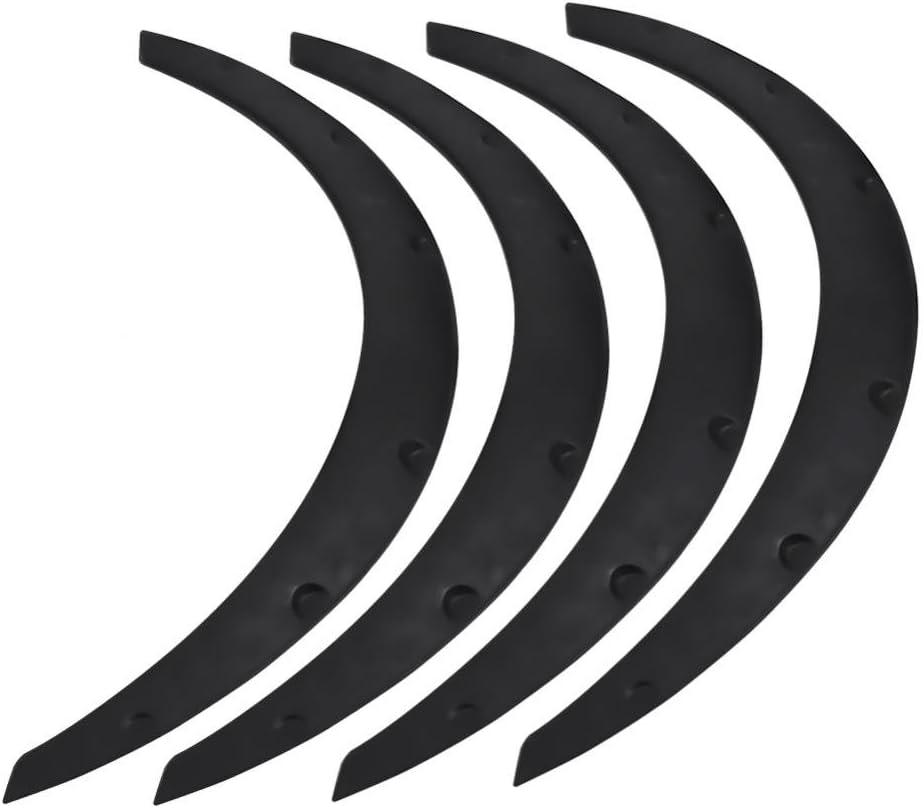Set di 4 Protezioni universali Flessibili per Auto Sportive per Fuoristrada parafango Svasato kaakaeu
