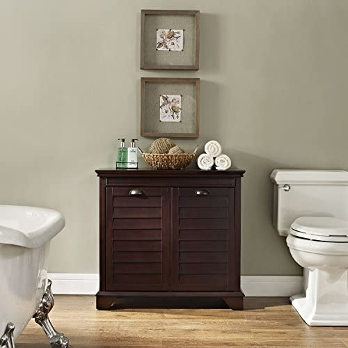 home, kitchen, furniture, accent furniture,  storage cabinets 12 on sale Crosley Furniture Linen Hamper, Espresso promotion