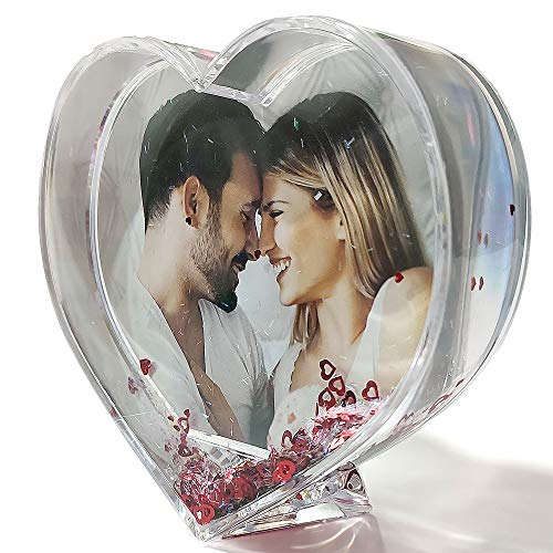 LolaPix - Bola Corazones Personalizada con tu Foto, diseno o Texto, Original y Exclusivo Regalo para Enamorados Regalo con Amor