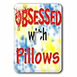 Blonde Designs Obsessed With - Obsessed With Pillows - Light Switch Covers - single toggle switch (lsp_241735_1)