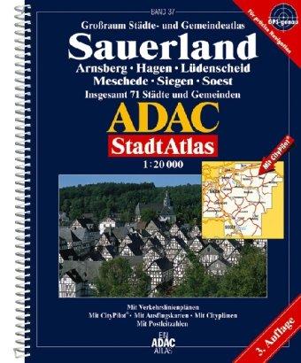 ADAC Stadtatlas Sauerland