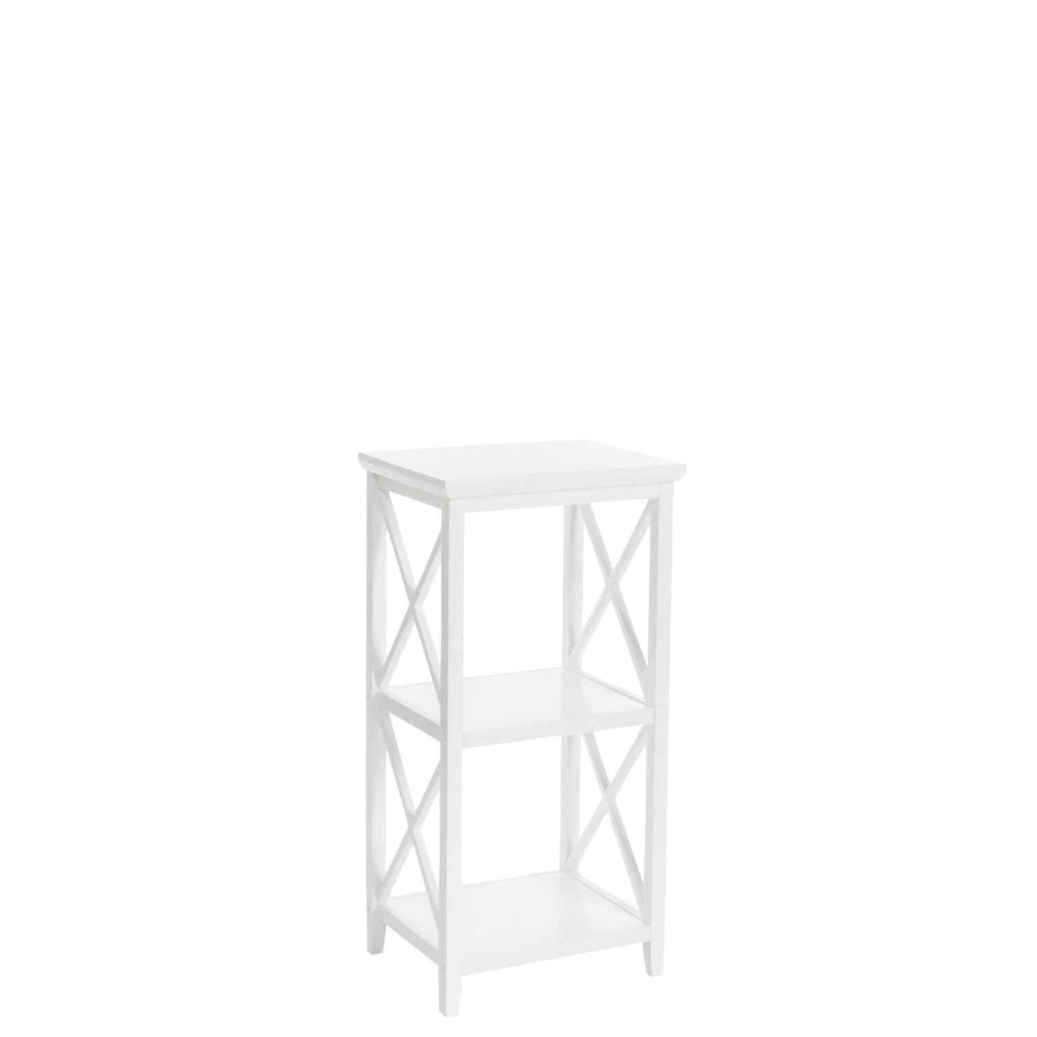 RiverRidge 06-072 X- Frame Collection Storage Tower, White