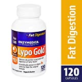 Enzymedica - Lypo Gold, Enzymes for Optimal Fat Digestion, 120 Capsules (FFP)