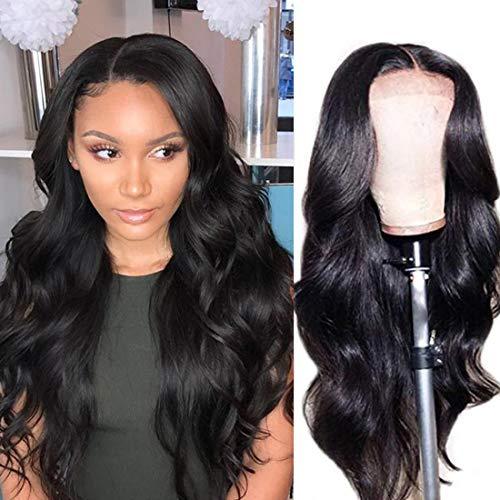 Fairgreat Hair Lace Front Wigs Human Hair 18 inch Brazilian Virgin Human Hair Body Wave 4x4 Lace Wigs with Baby Hair 130% Density Lace-Front-Wigs-Human-Hair (Cheap Human Hair Wigs)