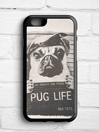 pug life for Iphone 6+ case