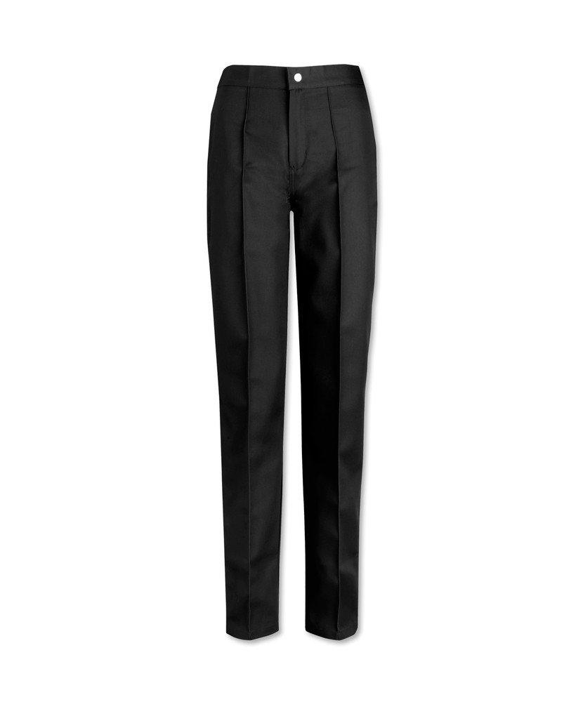 Alexandra W40-BU-ET-6 Women's Flat Front Trouser, Extra Tall, Size 6, Burgundy