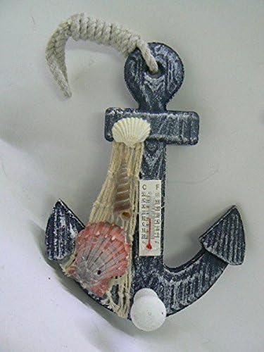 Appendi abito con Termostato a Forma ANCORA Orologio Marina a Forma TIMONE