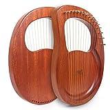 Lyre Harp, AKLOT 16 Metal Strings Mahogany Lye Harp