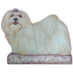 Maltese Dog Doorstop