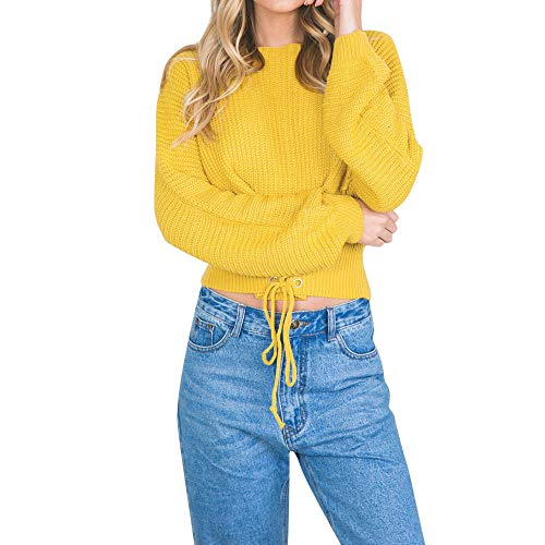 Blouse Solid Tops Dames Sleevel Long Chemises Casual Shirt Automne Blouse Blouse Jaune Femmes LaChe Innerternet T Hiver Color Shirt 6A7Bw7x