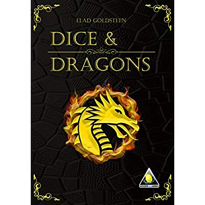 Golden Egg Games Dice & Dragons Game: Toys & Games