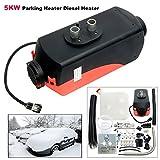 12 volt cab heater - 8milelake Diesel Heater 5KW Parking Heater 12V 5000W for Trucks, Motor-homes, Boats, Bus, Car Parking Heater