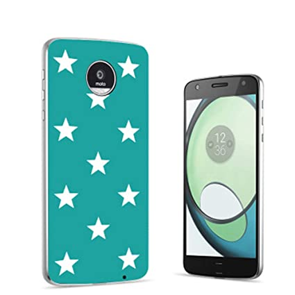 Amazon.com: Moto Z2 Force Case Moto Z Placa Trasera ...