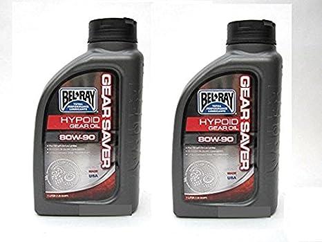 Amazon com: Two Bel-Ray Hypoid Gear Oil 80W-90 1 Liter Bottles