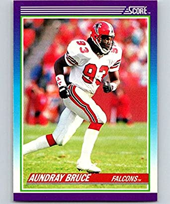 Amazon.com: 1990 Score Football #167 Aundray Bruce Atlanta Falcons Official  NFL Trading Card (from Factory Set Break): Collectibles & Fine Art