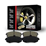 Saab 9-4X Performance Brake Kits - Premium Quality True Ceramic FRONT & REAR New Direct Fit Replacement Disc Brake Pad FULL Set 0535 - FRONT & REAR 8 PIECES FULL KIT D1422&D1337