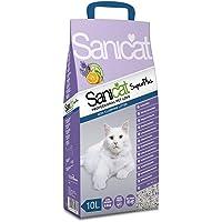 SANICAT SuperPlus Katzenstreu Absorbiert Orange und Lavendel