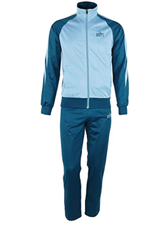 Active Tracksuit Set for Men/Men's 2 Piece Jacket & Pants Slim Fit Jogging Track Suit ZITY-Tracksuits-002