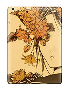 Hot Snap-on Anime Autumn Melancholy Hard Cover Case/ Protective Case For Ipad Air