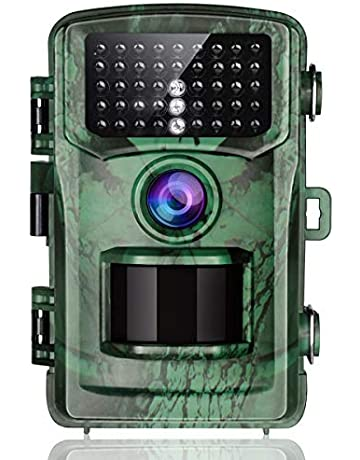 TOGUARD Cámara de Caza 14MP 1080P FHD Impermeable Trail Cámara con 120° Angular de IR