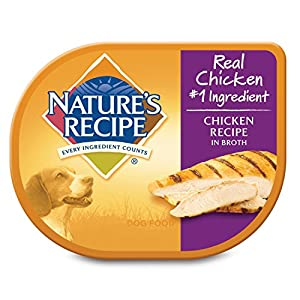 Nature's Recipe Wet Dog Food Chicken Recipe In Broth, 2.75 oz, 12 ct