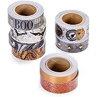 Martha Stewart 8-Piece Bats Washi Tapes