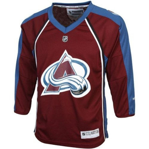 Colorado Avalanche NHL Kids One Size 4-7 Team Jersey (4-7 One Size)