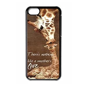 ZLGU(RM) Iphone 5C Case with Giraffe Customized Case, Personalized phone case